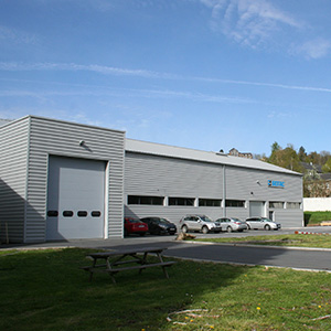 SEFAC production facilities in Monthermé