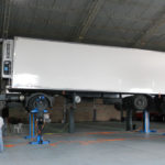 Truck lifted by SEFAC S2