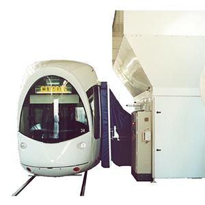 Centralized vacuum system NettoTram