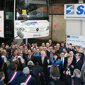 French President visited the SEFAC factory