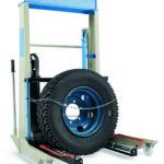 Hydraulic wheel dolly RAH 227B